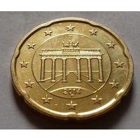 20 евроцентов, Германия 2014 F, AU