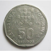 Португалия 50 эскудо 1988