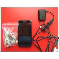 Телефон ZTE v8110, подзарядка, наушники, Б/У, без АКБ.