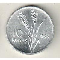 Турция 10 куруш 1975 ФАО - Сельскохозяйственный прогресс