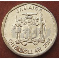 6028:  1 доллар 2015 Ямайка