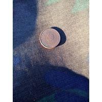 1 евроцент 2000 Нидерланды