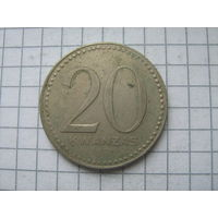 Ангола 20 кванзас 1978г.