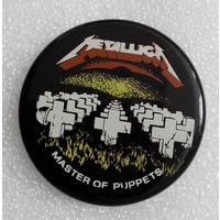 Значок. Metallica. Master of Puppets #0158