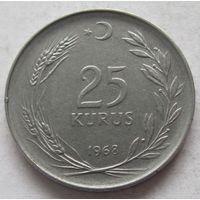 Турция 25 курушей 1968