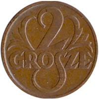 Польша 2 гроша 1931г.