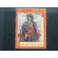 Ватикан 2002 дева Мария, мозаика