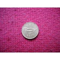 Соломоновы острова 1 цент 1996 г.