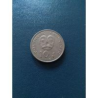 Французская Полинезия 10 франков 2009