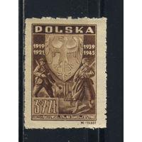 Польша 2-я Респ 1946 25 лет 3-его Силезского восстания #437*