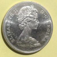 Канада 1 доллар 1965г