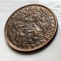 Нидерланды 1 цент, 1939 1-11-56