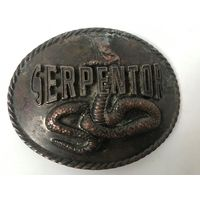 Пряжка для ремня serpentor Змея Металл