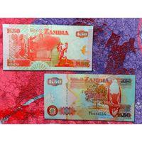ЗАМБИЯ 50 Квача 2008 UNC