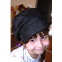 Берет кепка для супер девочки на 3-4 года