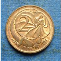 Австралия 2 цента 1989