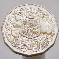 Австралия 50 центов 2008