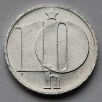 Чехословакия, 10 геллеров 1983 г.