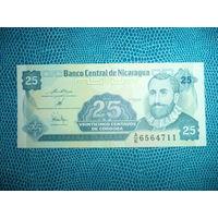 Никарагуа 25 сентаво UNC