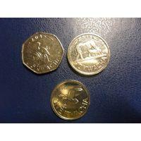Малави 3 монеты одним лотом