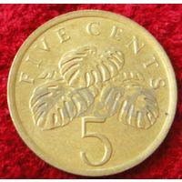 7521:  5 центов 1987 Сингапур