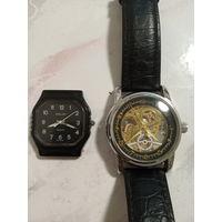 Часы полет кварц СССР и Orkina автоподзавод механические