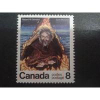 Канада 1976 писатель в живописи