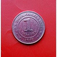 80-30 Никарагуа, 1 кордоба 2002 г.