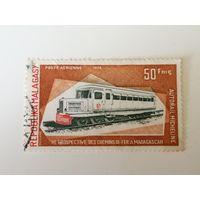 Мадагаскар 1974. История железнодорожного транспорта.