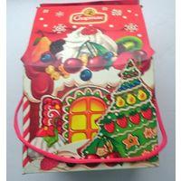Упаковка от новогоднего подарка