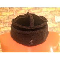 Фирменная шапка Kangol из натуральной замши. Высота 10 см, диаметр примерно 22 см. Очень качественная, дорогая шапка.