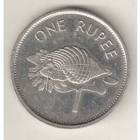 Сейшелы 1 рупия 1995
