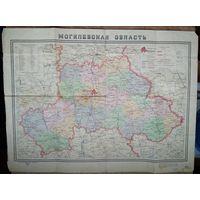 Карта Могилевской оласти. 1959 г