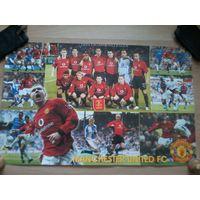 Плакаты Manchester United & Liverpool в формате А2