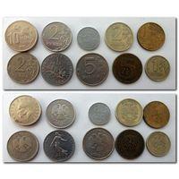 Набор монет - лот 44 / цена за все/