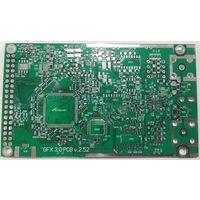 Осциллограф GFXscope v3.0 - печатная плата версии 2.52