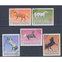 [2437] Йемен 1967. Фауна.Лошади. Гашеная серия.