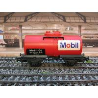 Цистерна MOBIL Kleinbahn. Масштаб HO-1:87.