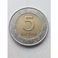 Литва, 5 лит 2009