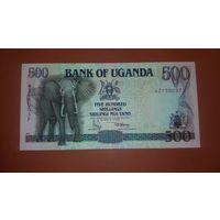 Банкнота 500 шиллингов Уганда 1991