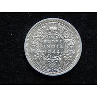 Индия 1/2 рупии 1944 г
