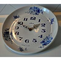 Часы Маяк. Тарелка фарфор. СССР