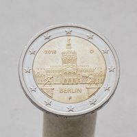 Германия 2 евро 2018  Берлин F