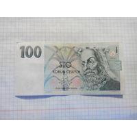 Чехия 100 крон 1997г
