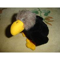 Смешной птыц птычка птица Мягкая игрушка 90-е гг