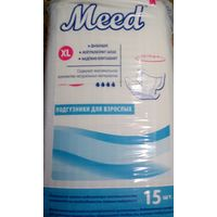 """Подгузники для взрослых """"Meed"""". Размер XL. Италия"""
