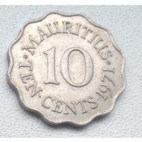 Маврикий 10 центов, 1971 6-7-9
