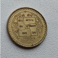 Непал 1 рупия, 1997 Посещение Непала 3-15-33