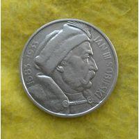 10 злотых 1933 г Ян Собески Отличный