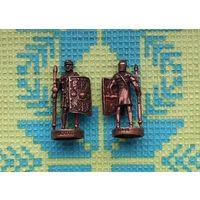 Древний Рим и Галлия. Римляне с копьями.